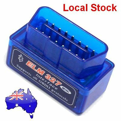 2017 Mini Auto Car ELM327 OBD2 ODBII Bluetooth CAN Scanner Tool TORQUE ANDROID