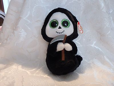 """Ty Beanie Boo Grimm -- 6"""" -- With All Tags"""