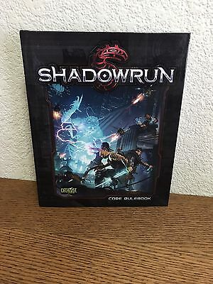 Shadowrun Book Catalyst Core RuleBook 5th Edition Hardcover