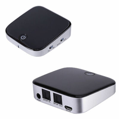 4.1 Bluetooth Receiver/Sender/Transmitter 3.5mm Audio Optical In Out Adapter BT