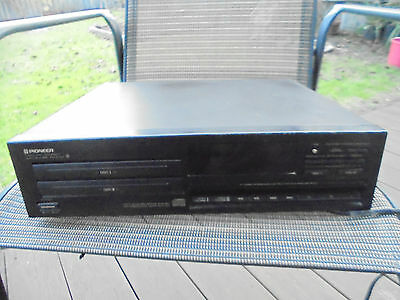 Vintage Pioneer Twin Tray Compact Disc Player Model Pd-Z73T
