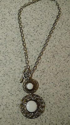 vintage artisan necklace