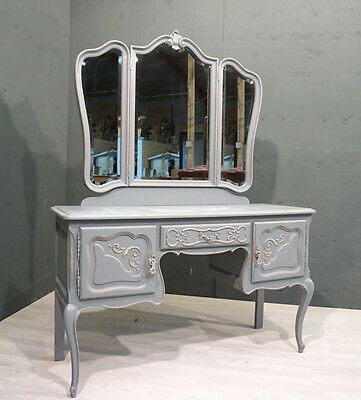 French Shabby Chic Dressing Table (BR280)