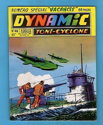 ► Dynamic Toni Cyclone - N°46 - Special 8 Recits Complets  - Artima - 1956