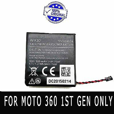 SNN5951A WX30 Original Battery For Moto 360 1st-Gen Smart Watch