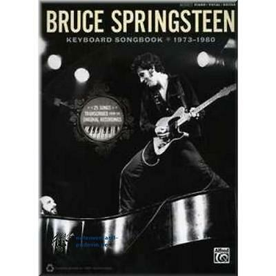 Bruce Springsteen - Keyboard Songbook (1973-1980)Notas Songbook Partituras 0261