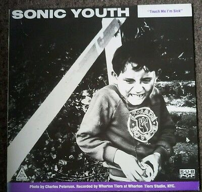 MUDHONEY / SONIC YOUTH: Halloween / Touch Me I'm Sick (1989 BFFP46) sub pop