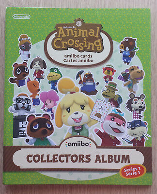 Animal Crossing New Leaf Welcome Amiibo Happy Home Designer Card Album Series 1