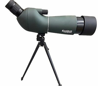Telescopio Spotting Scope Monocolo Cannocchiale Tripode 20-60X60 Eyebre