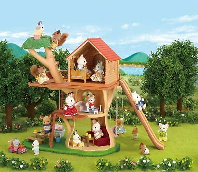 SALE Sylvanian Families Tree House - 2017 MODEL FREE POST NK