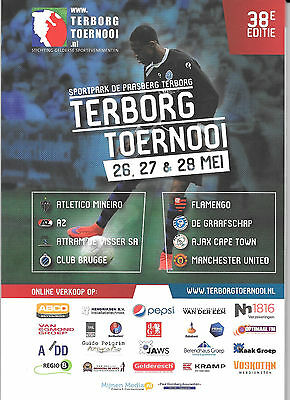 2017 TERBORG TOURN - 100 PAGE OFFICIAL PROGRAMME INC MANCHESTER UNITED U19s