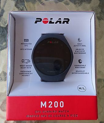 Polar M200 GPS running watch with HR - brand new never opened