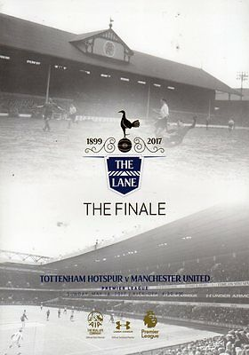 2016-17 - Tottenham v Manchester United 14.5.2017 Last Game at White Hart Lane
