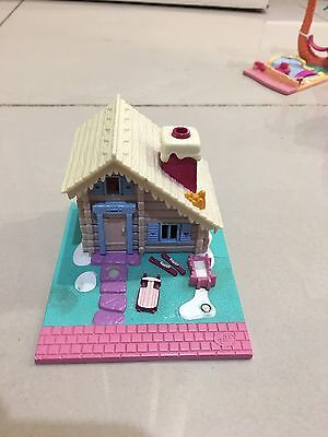Vintage Polly Pocket BlueBird 1993 Ski Lodge House Only