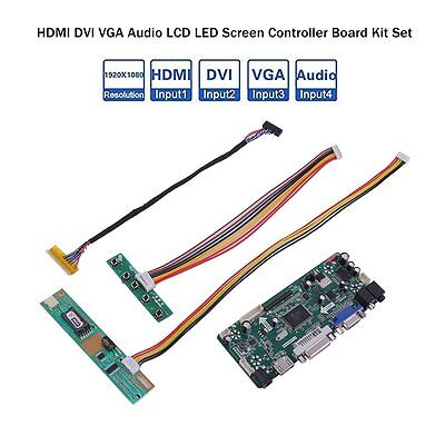 Best M.NT68676.2A HDMI DVI VGA Audio LCD LED Screen Controller Board Kit Set DS