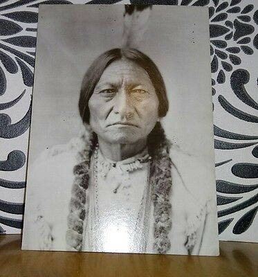 Sitting Bull, Library of Congress Postcard. Indigena Fine Art Publishers Ltd