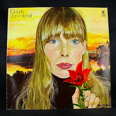Joni Mitchell Clouds 1969 Reprise K 44070 A3/b2 Uk/germany Press Chelsea Morning