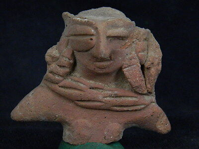Ancient Teracotta Mother Goddess Torso Indus Valley 600 BC  #TR613