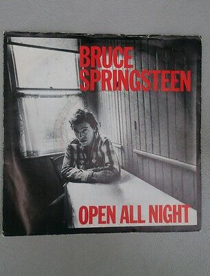 Bruce Springsteen Raro 45 Giri -Open All Night -The Big Payback Cbs A 2969