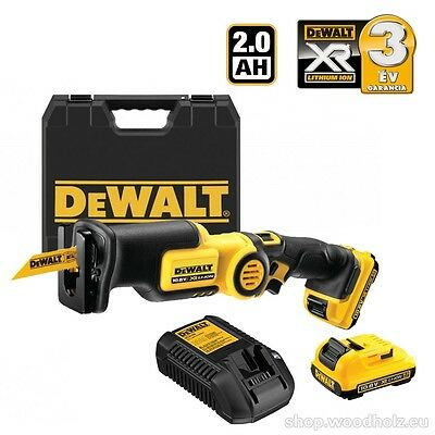 *NEW* Dewalt DCS310D2 10.8V Reciprocating Saw + 2x 2.0Ah Batts + Charger + Case