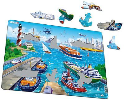By the Harbour-35 Piece Jigsaw Puzzle, Alzheimers/Dementia Activity Product