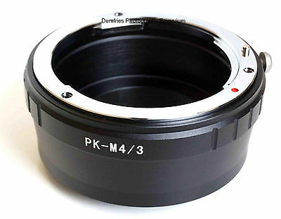 Quality Pentax K PK Lens to Micro Four Thirds System M4/3 Mount Adapter