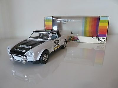 BBURAGO BURAGO FIAT 124 ABARTH RALLY  scala 1/24