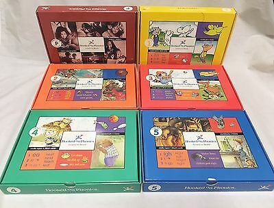 Hooked On Phonics Learn To Read Level 1-5 Books Cassettes Parent Tool Box Set