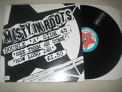 Misty in roots - See them ah come   Vinyl 12'' Maxi
