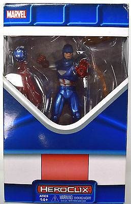 Marvel HeroClix - Captain America Sentinel Booster with Interchangeable Parts