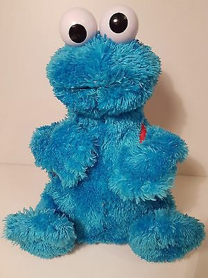 Cookie Monster Moving/Talking Count With Me Sesame Street Soft Toy Plush