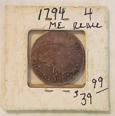 1794 ME - Mexico 4 Reales - Free Shipping
