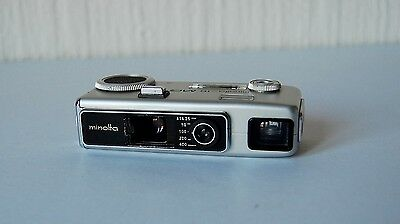 Vintage 1970'S Miniature Minolta-16 Mg.s Film Camera