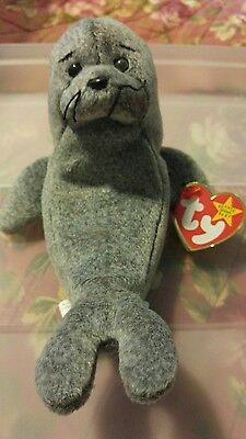 Ty beanie babies slippery with 4 ERRORS