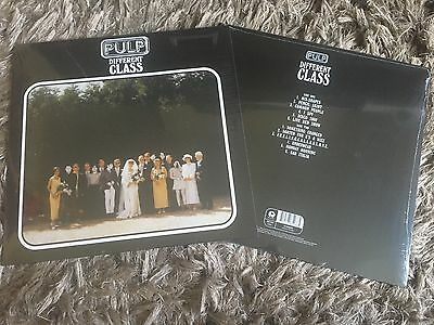 Pulp - Different Class - Sealed Vinyl LP Common People Disco 2000 Mis-Shapes