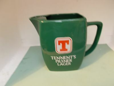 TENNENT'S `LAGER PUB WATER JUG WADE PDM (b)