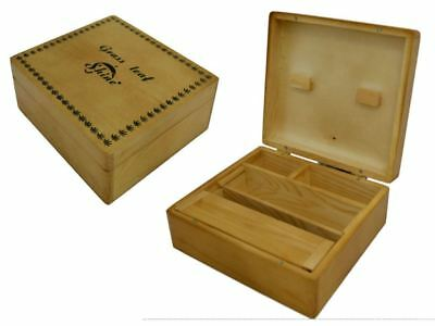Grassleaf Large Wooden Rolling Box Roll Box Smoking