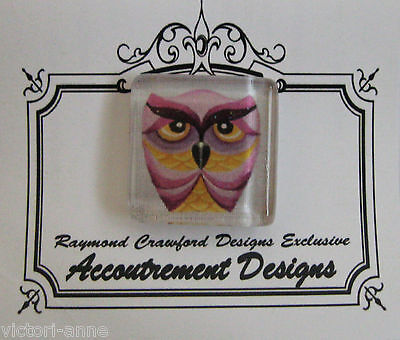 Accoutrement Designs Owl #14 Needle Minder Magnet Mag Friends Raymond Crawford