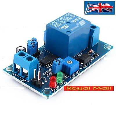 12V DC Delay Relay Delay Turn on / Delay Turn off Switch Module with Timer #B364