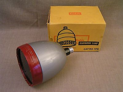 Kodak Model A Darkroom Lamp 152 1178 Photography Safelight Light w/ Filter & Box