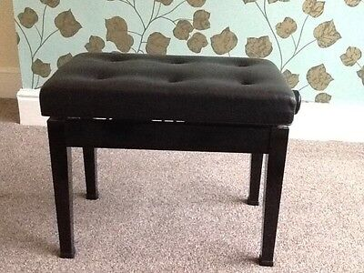 Leather Piano Stool