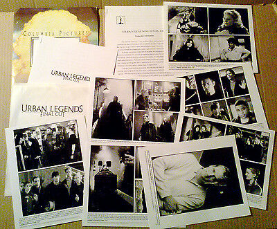 Press kit~ URBAN LEGENDS FINAL CUT ~Jennifer Morrison ~Joey Lawrence ~Eva Mendez