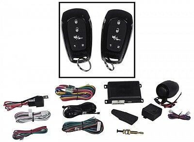 Prestige APS787E Remote Start & Car Alarm Keyless System Replaces APS787C