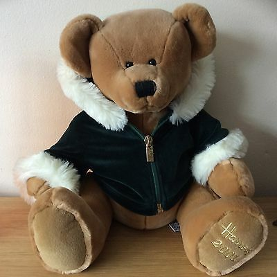 Beautiful Harrods teddy bear c2001 in lovely condition from a smoke free home UK