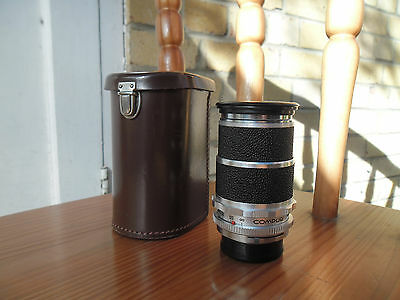 Voigtlander 135mm f4 Super-Dynarex Lens for Bessamatic with Case