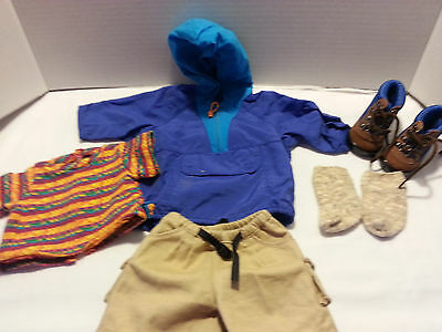 American girl retired hiking outfit - completed