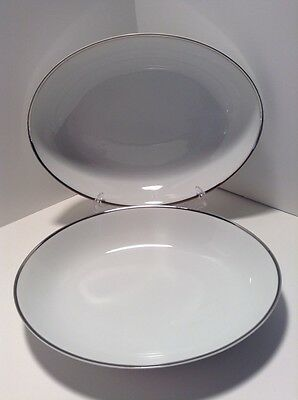 Harmony House Moderne (2) Oval Serving Bowls Excellent Condition!
