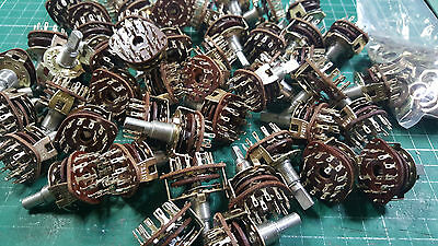 50 X ALPHA ROTARY SWITCH 3 POLE  4 POSITION , ROTARY SWITCH JOBLOT , 6mm x 11mm