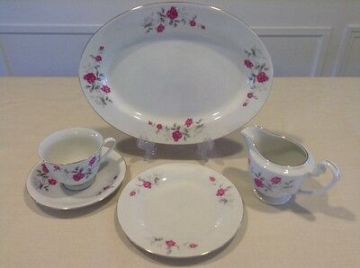 China Misc Mixed Lot, Pink Roses