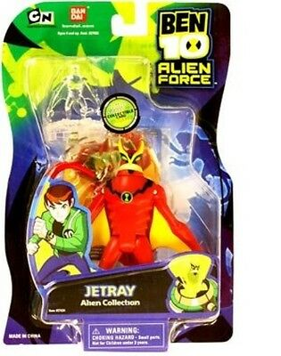 Ben 10 Alien Collection - Jetray 10cm Ultimate Action Figure - New & Sealed!